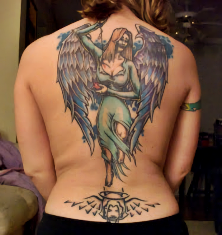 Angel Tattoo Meaning And Great Designs Women S Alphabet Often, angel tattoo designs are taken from classic art. angel tattoo meaning and great designs