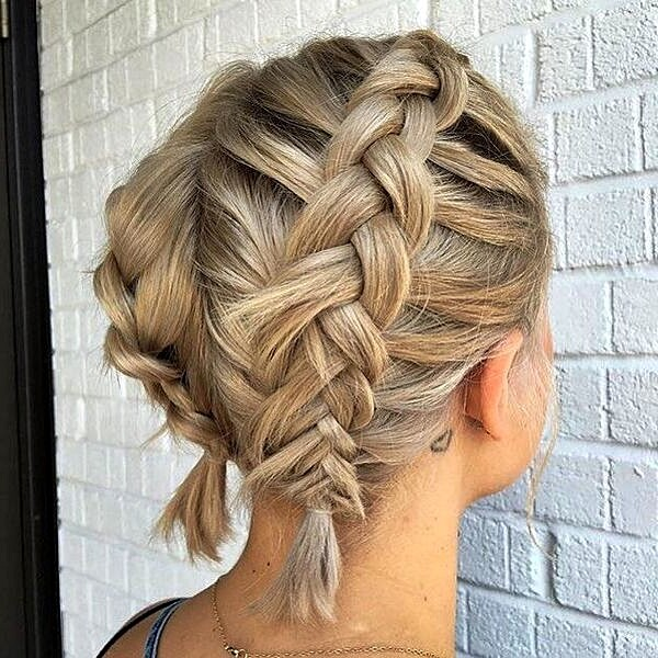 Braided Hairstyles For Short Hair The Most Popular Ideas Women S Alphabet